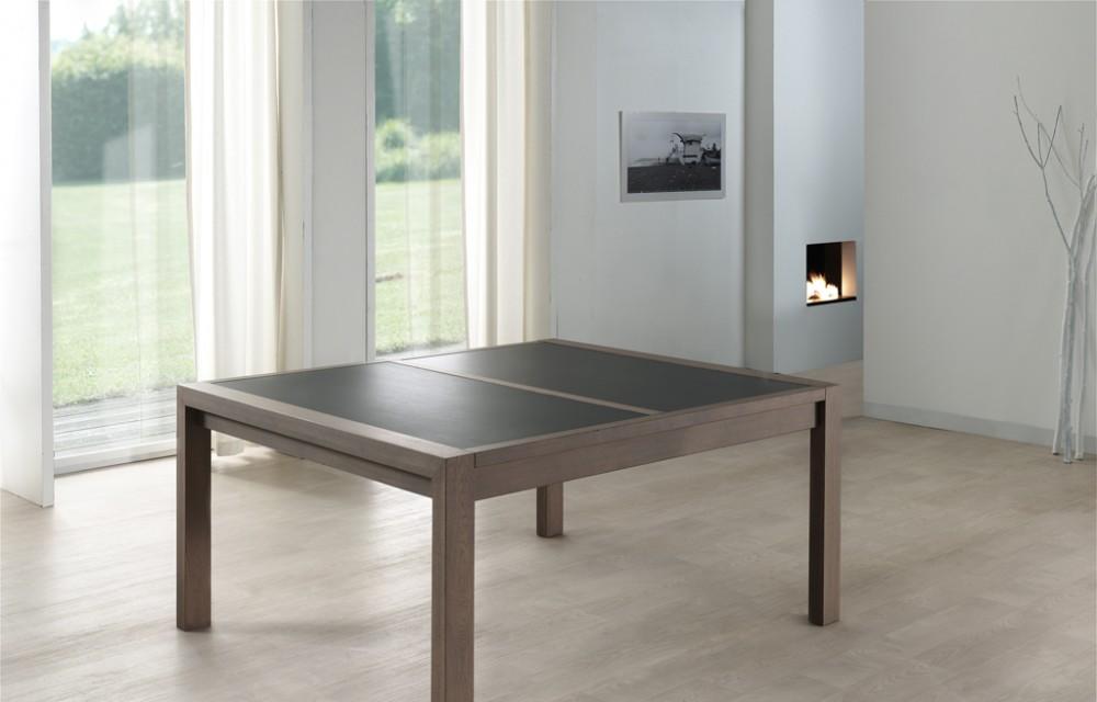 Table faux carré 160x140 E19 N°2 céram fermée (1)
