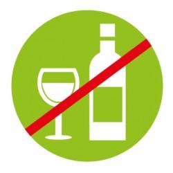Aucune boisson alcoolisée n'est servie dans nos magasins